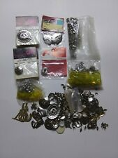 Bolo Tie Hand Crafting Lot Southwest Backs Tips Slides 1.5 LBS. Accessories