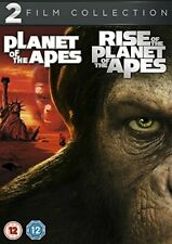 Planet of the Apes / Rise of the Planet of the Apes (DVD) (2013) Charlton Heston