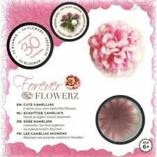 Craft Buddy Forever Flowerz Cute Camellias - Pink Ff01pk - Makes 30 Flowers