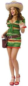 Sexy Shooter Costume - Mexican Fancy Dress - Womens Costume