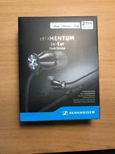 Sennheiser M2IEi Momentum In Ear Headphones for iOS Black QR Label Validated
