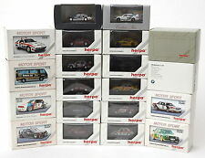Herpa 1:87 Motor Sport, Exclusive & Private Collection Cars x 20