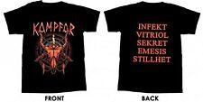 KAMPFAR - Red Skull - T-Shirt - Größe Size XL - Neu