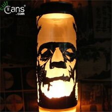 Frankenstein's Monster Beer Can Lantern! Boris Karloff Pop Art Lamp, Unique Gift