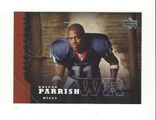 2005 Upper Deck #222 Roscoe Parrish RC Rookie Bills SP