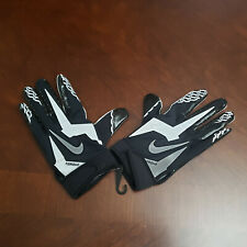 Nike TORQUE PE NFL Receiver Gloves BLACK WHITE PGF315 010 Adult Size X-Large