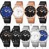 Fashion Stainless Steel Men Army Military Sport Date Analog Quartz Wrist Watch