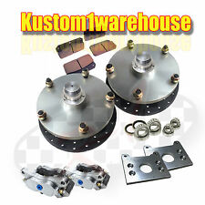 Type2 VW Volkswagen Bus front disc brake conversion kit 1955-63 Billet USA 5/205