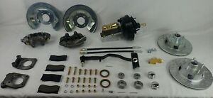 1967 Ford Mustang front disc brake conversion v-8 4 piston power