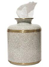 MANDARIN ORIENTAL PORCELAIN TISSUE DISPENSER - TISSUE HOLDER - TISSUE COVER