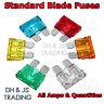 Blade Fuses Standard Fuse 2a 3a 4a 5a 10a 15a 20a 25a 30a 40a fuse ATO Bike Car