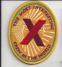 PATCH NAVY USN CAC 10 COMBAT AIR CREW MOST INTERESTING CREW IN THE WORLD
