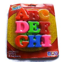 26 x MAGNETICO LETTERE MAIUSCOLE Alfabeto per Bambini Apprendimento Frigo Magneti