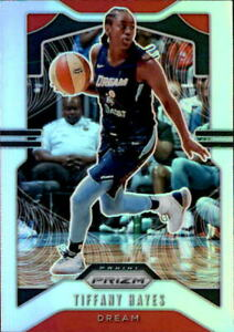 Tiffany Hayes 2020 Panini Prizm WNBA Silver Parallel Card #25