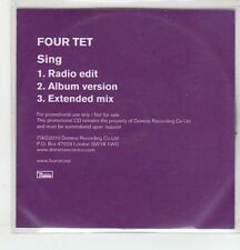 (ER867) Four Tet, Sing - 2010 DJ CD