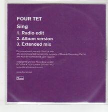 (ER867) Four Tet, Sing - 2010 DJ CD