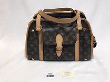 Louis Vuitton Baxter Pm Dog Carrier Bag Purse Monogram Tote Teacup Lv