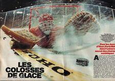 Coupure de presse Clipping 1984 Equipe Sovietique de Hockey sur glace (6 pages)