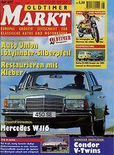 Markt 8/97 1997 W116 Kreidler Florett Maico MD 50 Barkas B 1000 TVR Condor V2 P5