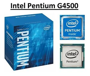 Intel Pentium G4500 SR2HJ Dual Core Processor 3.5 GHz, Socket LGA1151, 51W CPU