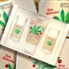 Styx HANF Weihnachtsbox Handcreme Dusche Öl 3x30ml Naturkosmetik bio Hanfsamenöl