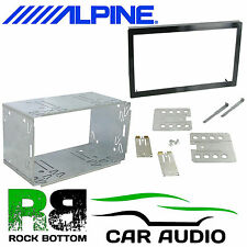 ALPINE CDE-W235BT 110mm Replacement Double Din Car Stereo Radio Fascia Cage Kit