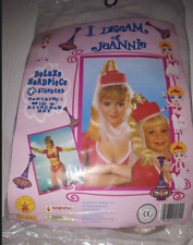 I Dream Of Jeannie Halloween Adult Child Deluxe Headpiece Wig New Rubie's 1997