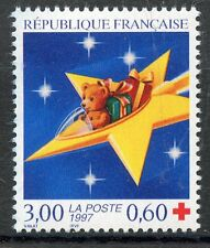 STAMP / TIMBRE FRANCE NEUF N° 3122 ** CROIX ROUGE OURSON / FETE DE FIN D'ANNEE