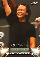 e1cd65aaf83 MICHELLE WATERSON SIGNED AUTO D TOPPS WALL ART 10X14 BAS COA UFC 218 VS PVZ