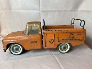 Vintage Tru-Scale International Parts & Service Orange Utility Truck