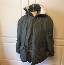 Parka N-3B Sz L Extreme Cold Weather Coat Genuine US Military Winter Jacket Hood