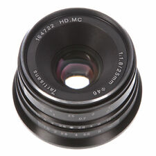 Manual Focus MF 25mm F/1.8 Prime Lens For Fujifilm mount X-E1, X-E2 X-Pro1/Pro2