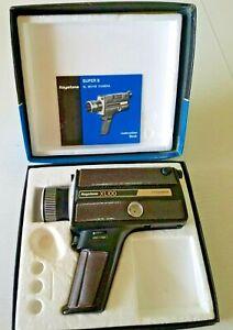 Vintage Keystone XL100 Super 8 Movie Camera Electric Eye Box Manual