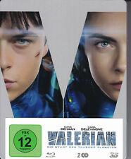 2d+3d Blu-ray: Valeriano-la ciudad de los mil planetas * Limited Steelbook *