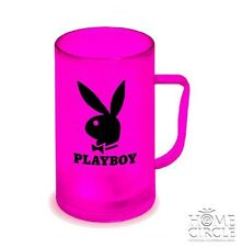 PLAYBOY HOT PINK EZY FREEZE MUG OFFICIAL PRODUCT KEEP DRINKS COOL GREAT GIFT
