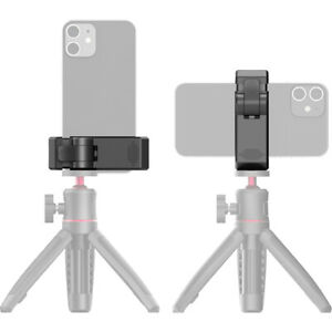Ulanzi ST-26 Aluminum Phone Tripod Mount with Cold Shoe Mount, Support Vertical