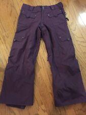 BURTON Women's Snow Ski Pants Size M - Mesh Lining / Vents - Perfect!