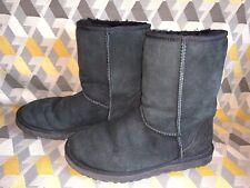 Ugg Black Short Boots Size 6.5