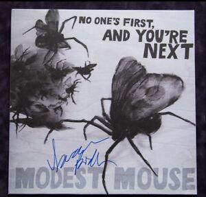 GFA Modest Mouse * ISAAC BROCK * Signed New Record Album B2 PROOF COA