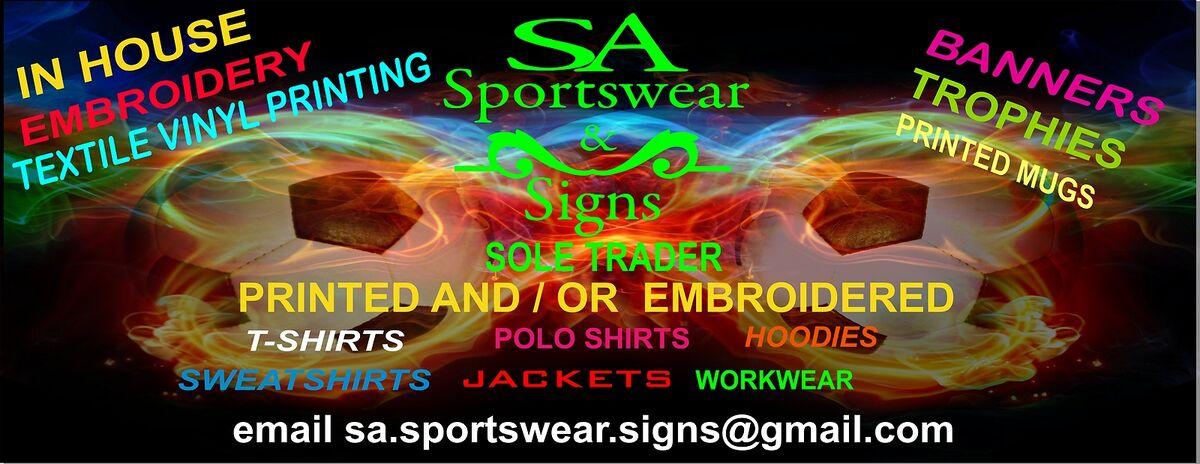 SA Sportswear and Signs
