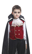 Boys Vampire Costume Halloween Cosplay  Costumes Festival Performance Clothes