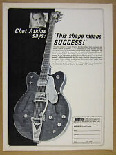 1966 Chet Atkins Gretsch Country Gentleman Guitar vintage print Ad