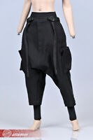 1/6 Fashion Female Harem Pants TAPERED Tapered Loose Trousers fit 12'' Figure