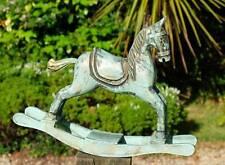 Vintage Miniature En Bois Arc cheval à bascule idéal pour Old Teddies to ride
