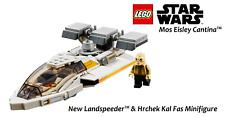 LEGO Star Wars New Landspeeder & Hrchek Kal Fas Minifigure - 75290