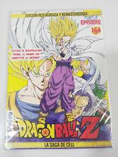 DRAGON BALL Z LA SAGA DE CELL 2 X DVD SOBRE CARTON - CAPITULOS 164-165 NUEVO