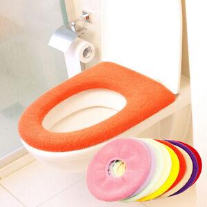 Bathroom Winter Toilet Seat Closestool Washable Warmer Mat Cover Pad Cushion