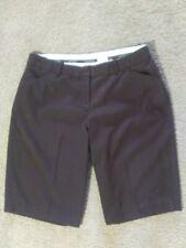 WORTHINGTON PETITE Stretch Size 10P Brown Bermuda Shorts Womens Shorts