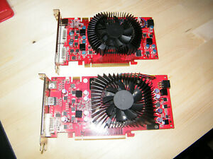 SLI Nvidia 9600 GT 512mo ddr3 fonctionnent parfaitement sous w10 64bits