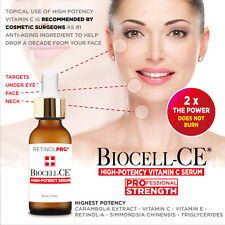 10-YEARS YOUNGER EYES HIGH-POTENCY BIOCELL-CE Serum COSMETIC SURGEON RECOMMENDED